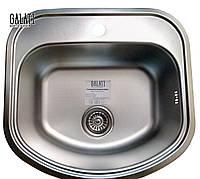 Кухонная стальная мойка (49*47*18 см) Galati Vayorika Textură 7231, фото 1