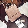 Рюкзак сумка для девушки экокожа розовый