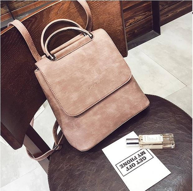 c08b0a5d98d1 Рюкзак сумка для девушки экокожа розовый, цена 468 грн., купить в ...