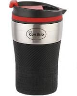 Чашка-термос (сталь) 280 мл Con Brio CB-360 черн