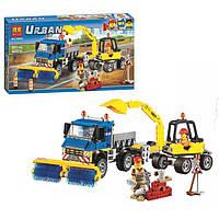 Конструктор Bela Urban 10651 Уборочная техника 323 дет (аналог Lego City 60152)