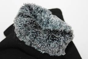 Стрейчевые перчатки+ Кролик  Маленькие, фото 3