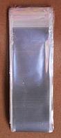 Полипропиленовые пакеты с клапаном. Размер: ширина 4 см длина 12 см