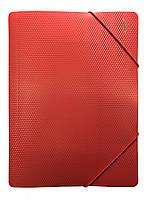 Папка на 2х резинках А4 (красная)