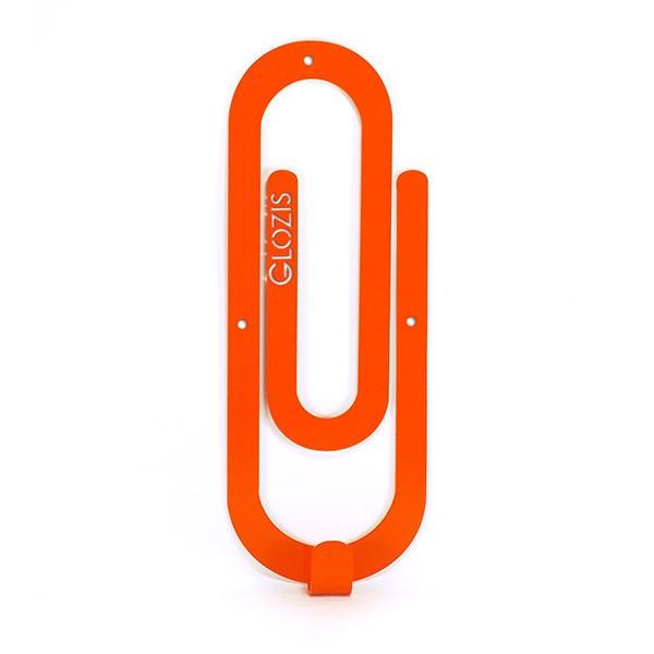 Вешалка настенная Glozis Clip Orange