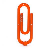 Вешалка настенная Glozis Clip Orange, фото 1