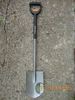 Телескопическая лопата Fiskars, штыковая (131300/1001567)