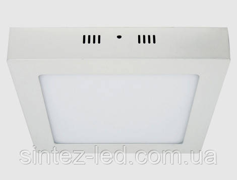 Светодиодный cветильник накладной Feron AL505 24W 5000K квадратный белый Код.57966, фото 2