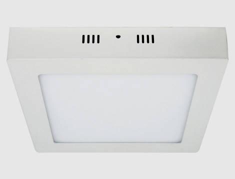 Світлодіодний світильник накладний Feron AL505 24W 5000K квадратний білий Код.57966, фото 2