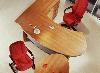 """Стол руководителя с округлыми углами """"Статус-Люкс"""""""
