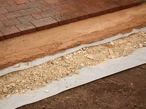 Как уложить геотекстиль под тротуарную плитку