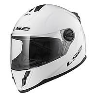 Детский шлем LS2 FF392 KID SINGLE MONO, GLOSS WHITE, M
