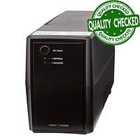 ИБП 390Вт LP U650VA-P, USB-порт, аккум. 12V 7,5Ah, Черный цвет