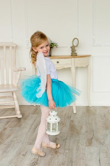 Значение цвета в одежде ребенка. Голубой.