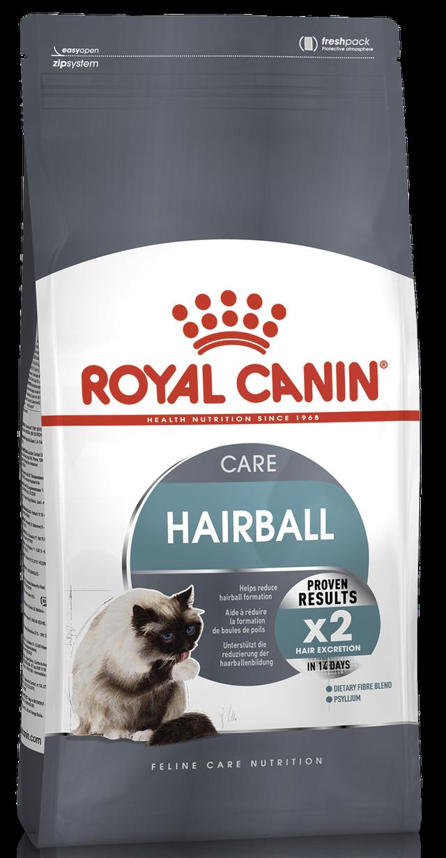Корм для кошек для выведения волосных комочков Royal Canin Hairball Care