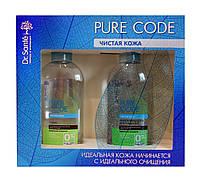 Косметический набор Dr.Sante Pure Code Чистая кожа (тоник для лица+мицеллярный гель для умывания)