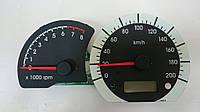 Тахометр  и спидометр на Daewoo Nexia N150