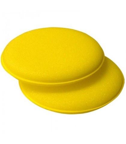 Аппликатор желтый круглый, спонж для нанесения жидкого воска, 3F