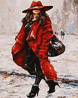 Картина по номерам без коробки Красный - мой цвет! (BK-GX5839) 40 х 50 см