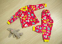 Пижама детская теплая (для девочек)