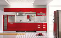 Кухни из акрилюкс в Киеве, кухонная мебель на заказ, фото 1