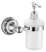 Дозатор для жидкого мыла с держателем BP0110