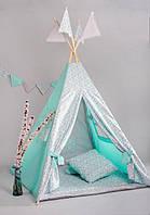 Вигвам - палатка «Мятная карамель»