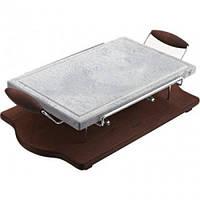 Каменный гриль (25*40 см) Hot Stone Grill Bisetti 99024