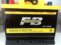 Акумулятор автомобільний 50 FB Premium