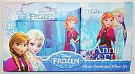 Набор подарочный Frozen (фотоальбом на 96 фото + фоторамка 10х15 см)