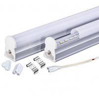 Линейный светодиодный светильник Т5 300мм 4ВТ 4200К или 6500К