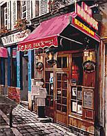 Картина по номерам без коробки Идейка Рим Уютный бар (KHO2195) 40 х 50 см