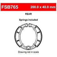 Тормозные колодки барабанные FE FSB765