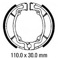 Тормозные колодки барабанные FE FSB722
