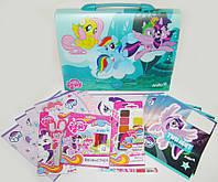 Набор первоклассника в портфеле My Little Pony 18 предметов