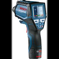 Термодетектор Bosch GIS 1000 C Professional (переходник AA1 + 4xAA батарейки + вкладка для L-Boxx и комплектующих + инструкция + microUSB кабель) +