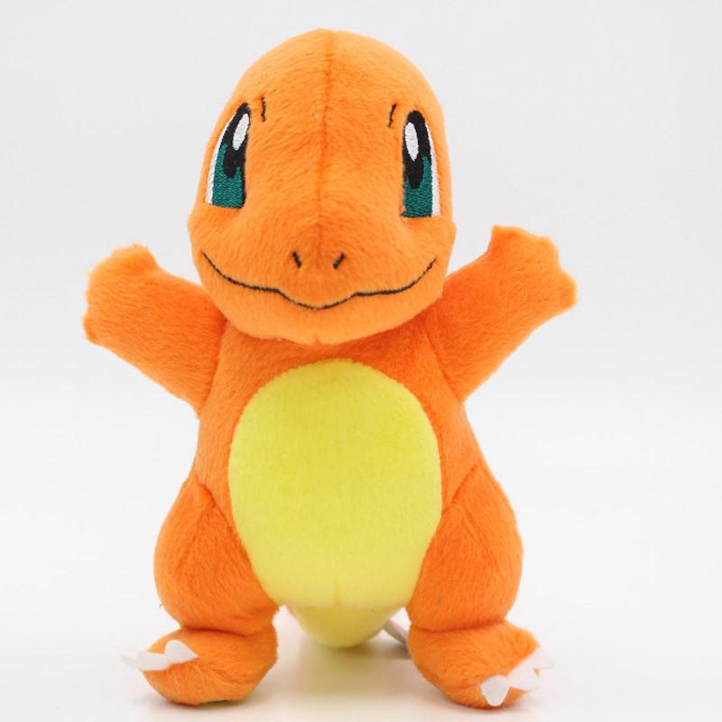 Мягкие плюшевые игрушки Покемон Charmander 18 см.