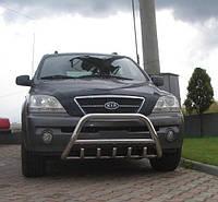 Кенгурятник Kia Sorento 2004-2010 гг. (WT003 нерж)