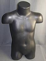 Манекен торс детский чёрный