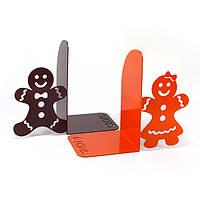 Упоры для книг Glozis Gingerbread G-021, фото 1