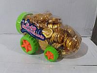 Шоколадные монеты в машине 200 шт Prestige