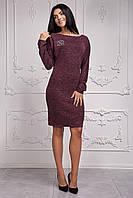 Красивое теплое женское платье Шанель