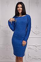 Ангоровое теплое женское платье Шанель