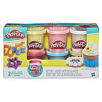 Play Doh Плей до 6 баночек с конфетти Play-Doh Confetti Compound Collection Set