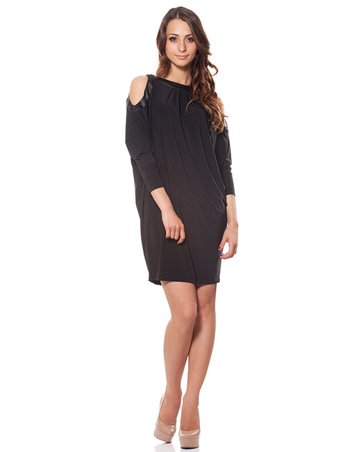 Женское платье свободного покроя (размер S)