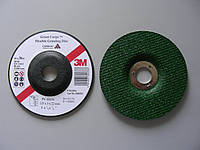 3M™ Green Corps™ 60637 - Гибкий зачистной круг по нержавейке, 125х3,0х22,23, Р80