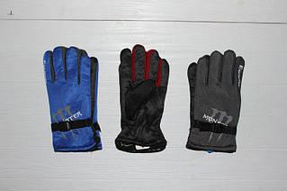 Перчатки стильные мужские спортивные трикотажные