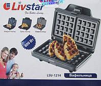 Новая вафельница LivStar LSU 1214, фото 1
