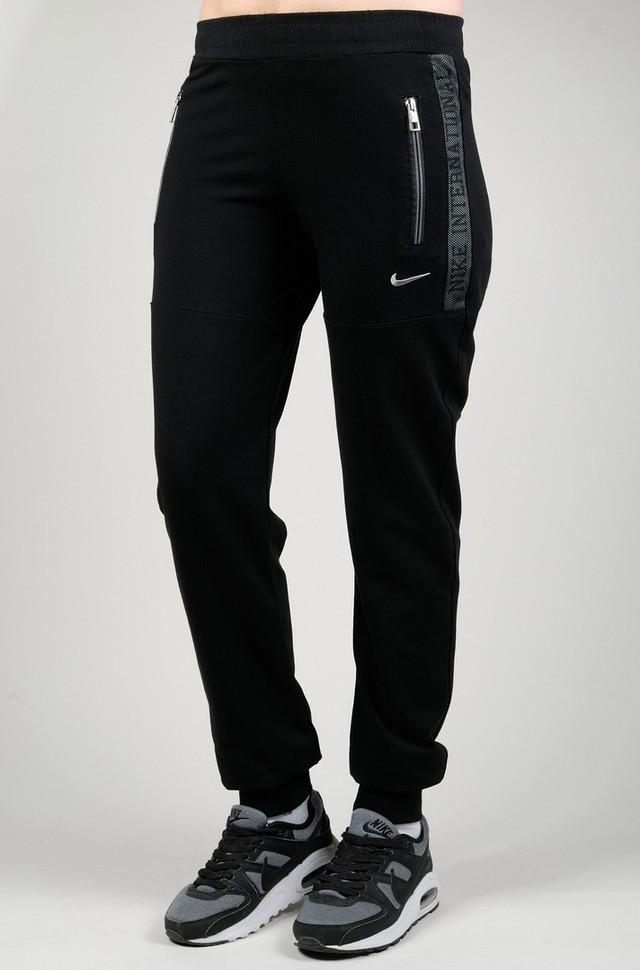 bc370c74 Женские спортивные брюки NIKE 7240 черные - купить по лучшей цене ...
