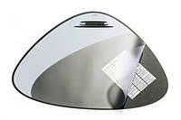 Настольное покрытие Durable Vegas треугольное с прозрачным клапаном черное (7208 01)